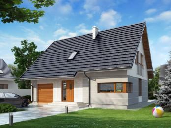 дом с мансардой проект
